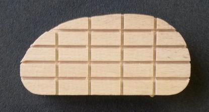 Billede af 8046 Klovsko, træ, 11 cm, kasse m/100 stk