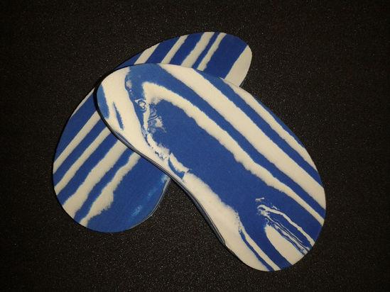 Billede af 8203 Walkease 10 stk blå klovsko