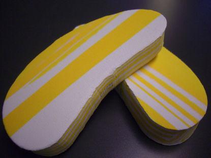 Picture of 8204 Walkease klovsko Medium yellow. 10 stk