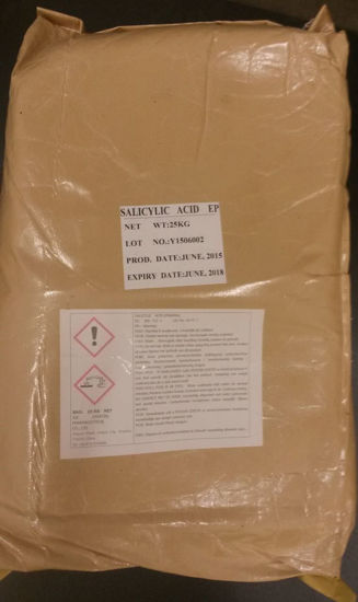 Picture of 8078 salicylic acid, sack a' 25 kg