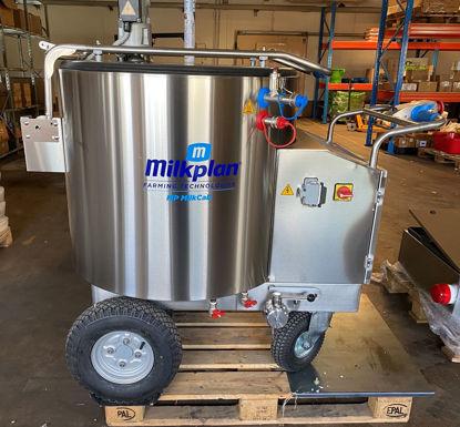 Foto de 38m-0224 Mælketaxa / MilkCab 300 liter Slim Powder
